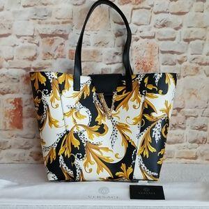 ❣HP❣ New Versace Virtus Logo Baroque Tote Bag